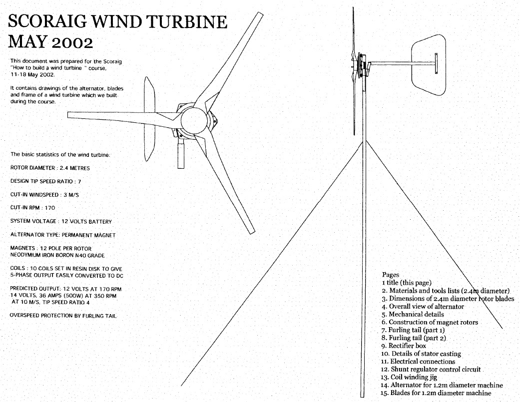 Download Pdf Documents Scoraigwind Diy Wind Turbine Wiring Diagrams Axial Flux Plans 2002